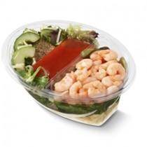Maaltijdsalade Garnalen 400 gram (met pasta)