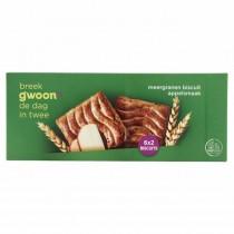 Meergranen biscuit appel G'woon 225 gram