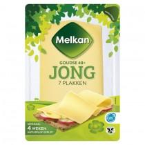Melkan kaasplakken jong 48+ 190 gram