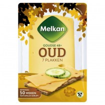 Melkan kaasplakken oud 48+ 190 gram