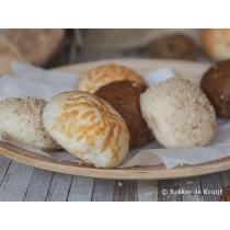 Mini broodjes bake-off 9 stuks