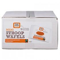 Mini stroopwafel Fair Trade 150 stuks