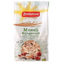 Muesli Zonnatura rijkgevuld biologisch 500 gram