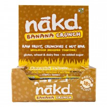 Nakd banana crunch 18 x 35 gram