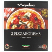 Napolina pizzabodems 2 stuks