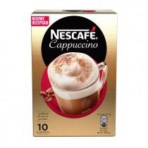 Nescafe cappucino 10 sachets pakje