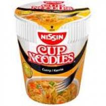 Noodles Nissin kerrie 8x1 cup a 65 gram