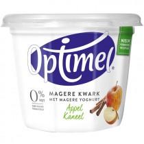 Optimel magere kwark appel/kaneel 500 gram