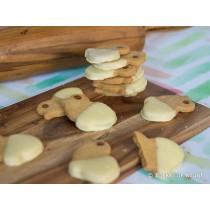 Paas kuiken koekjes 6 stuks (Banketbakker)