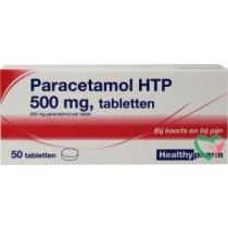 Paracetamol b/merk 500mg 50 tabletten maximaal 2 per klant OP=OP