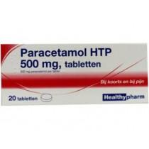 Paracetamol B-merk 500 mg 20 tabletten  maximaal 2 per klant OP=OP