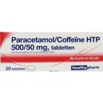 Paracetamol / coffeïne B-merk 500 mg 20 tabletten  maximaal 2 per klant OP=OP
