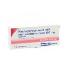 Paracetamol kind B-merk 100 mg 10 tabletten  tijdelijk uitverkocht