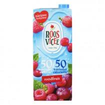 Roosvicee 50/50 roodfruit 1,5L