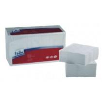 Servetten wit klein 24/24 cm  Duni 3 laags 250stuks