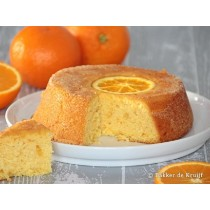 Sinaasappel cake per stuk