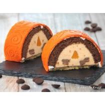 Sinaasappel chocolade gebakje