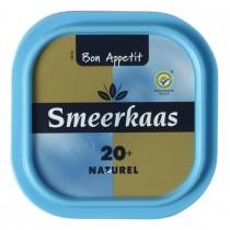 Smeerkaas 20 + naturel Bon Appetit kuipje 100 gram