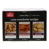 Smelik luxe roomboter zoutjes 700 gram