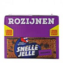 Ontbijtkoek Snelle Jelle met rozijnen 20 x 70 gram