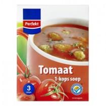 Soep 1 kops tomaat Perfekt 3zakjes