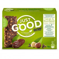Sultana cacao & hazelnoot just good 120 gram