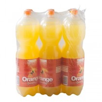 Summit orange sparkling 6 x 2 liter