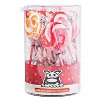Sweetz lollypop twistzzz zak 50 stuks
