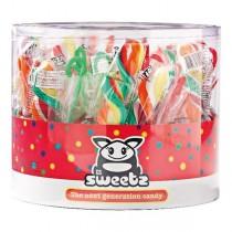 Sweetz Spiraal lolly 25 stuks
