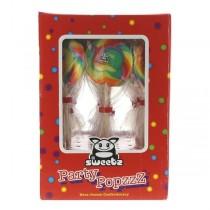 Sweetz Spiraal lolly regenboog party stickzzz silo 30 stuks