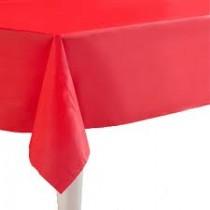 Tafelkleed rood per stuk