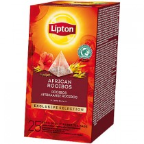 Thee Lipton exclusive selection Afrikaanse rooibos 25 stuks
