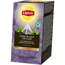 Thee Lipton exclusive selection zwarte ceylon 25 stuks