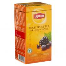 Thee Lipton professioneel blauw fruit 25 zakjes