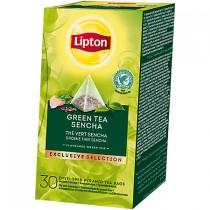 Thee Lipton exclusive selection groene thee sencha 30 stuks