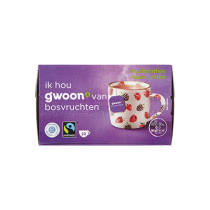 Thee G'woon (Fair Trade) Bosvruchten 20 zakjes