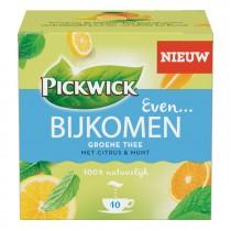 Thee Pickwick even bijkomen groene thee met citrus & munt pakje