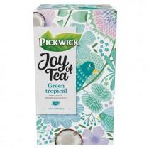 Thee Pickwick Joy of tea green tropical 15 stuks