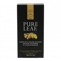 Thee Pure Leaf gember en oranjebloesem 20 x 2,5 gram