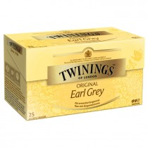 Thee Twinings earl grey 25 zakjes