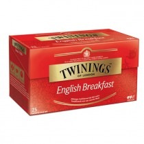 Thee Twinings english breakfast 25 zakjes