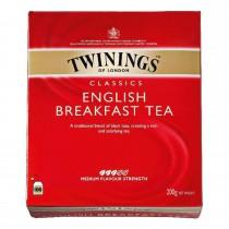 Thee Twinings English tea 100 x 2 gram