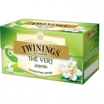 Thee Twinings green tea & jasmin 20 zakjes