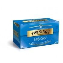 Thee Twinings lady grey 25 zakjes