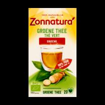 Thee Zonnatura groen ginseng vitaal 20zakjes