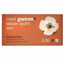 Tissues lotion 3 laags G'woon 90 stuks