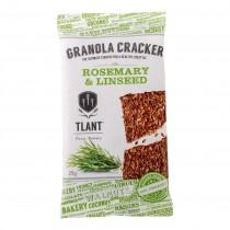 Tlant granola cracker rosemary linsee, glutenvrij lactosevrij BIO 20 x 25 gram