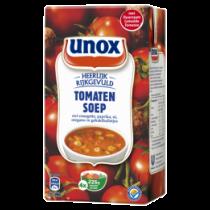 Tomatensoep in pak Unox 1L