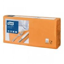 Tork servetten 2 laags oranje 33 x 33 cm