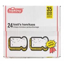 Tosti's ham kaas Topking diepvries 24 stuks x 35 gram